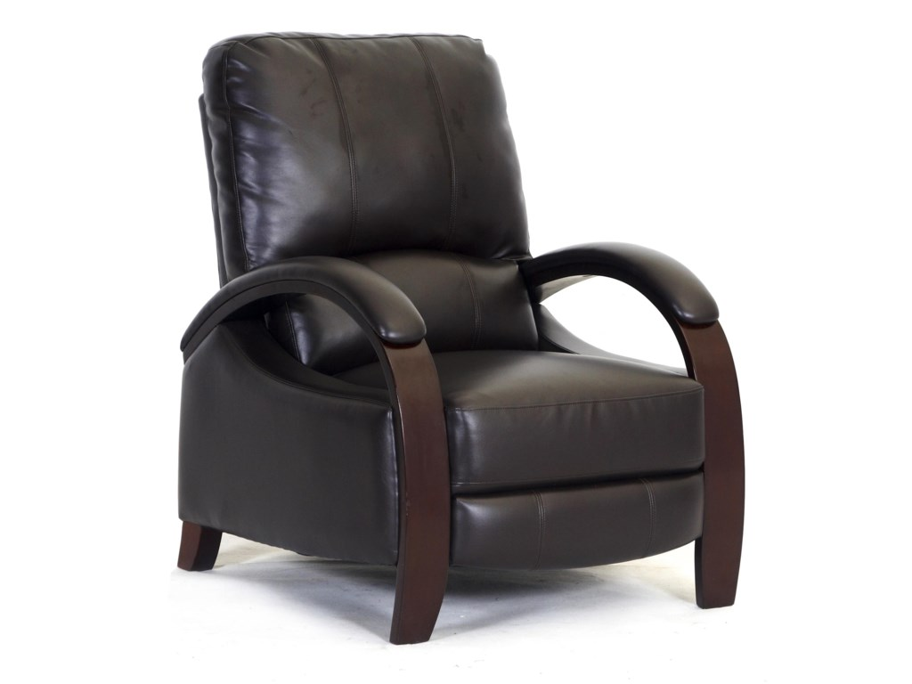 Synergy Home Furnishings 792Reclining Push Thru Arm Chair