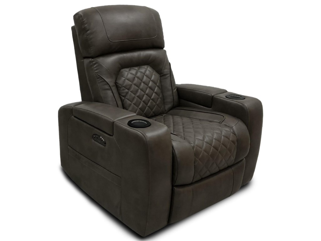 Synergy Home Furnishings DeLoreanPower Theater Recliner