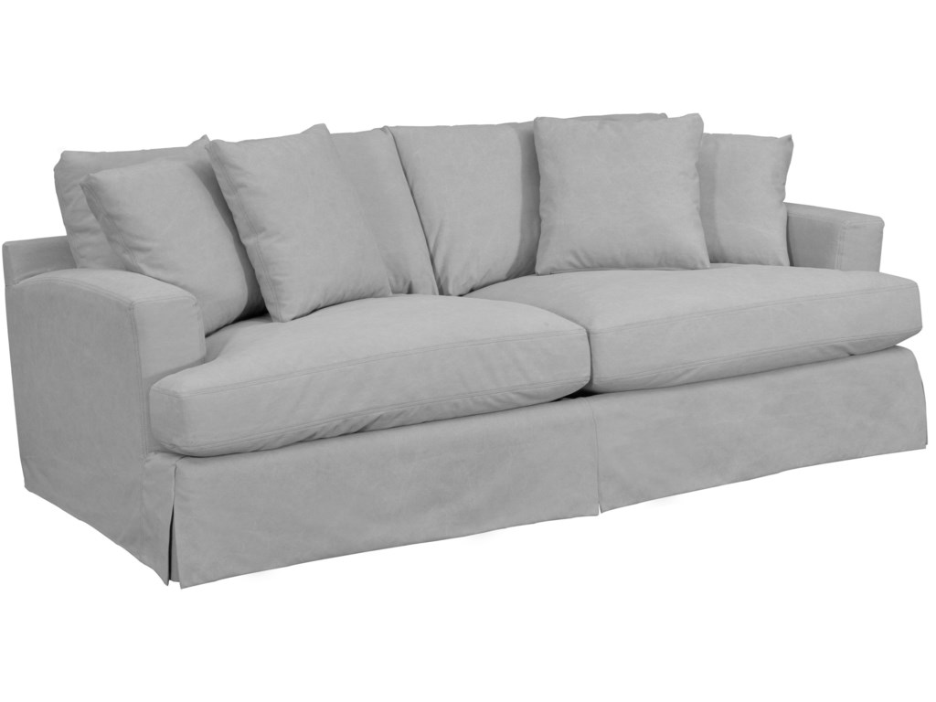 slipcover camille louis side silver sofas seating sofa