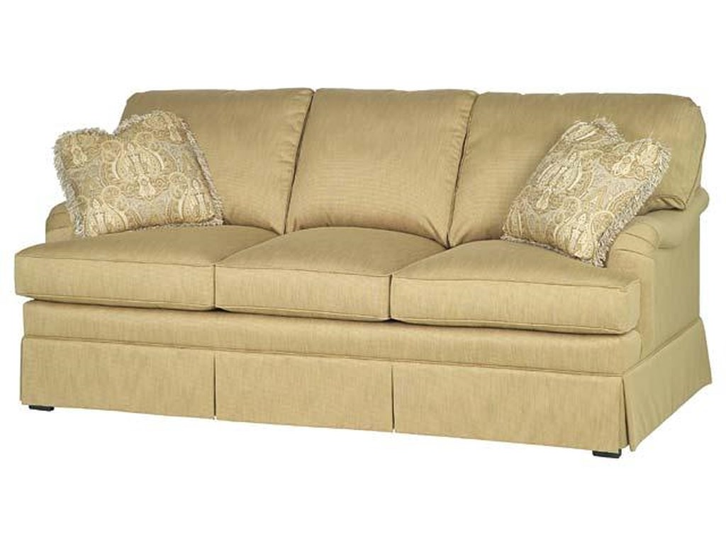 Taylor King Casual Corners Customizable Upholstered Sofa