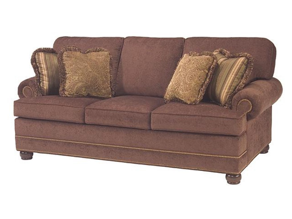 Taylor King Casual Corners Customizable Upholstered Queen Sofa Sleeper