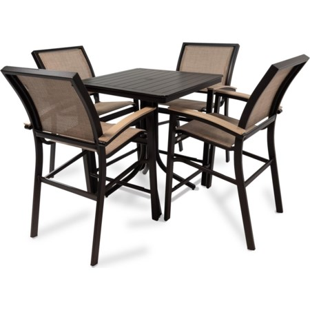 Outdoor Balcony Height Dining Set