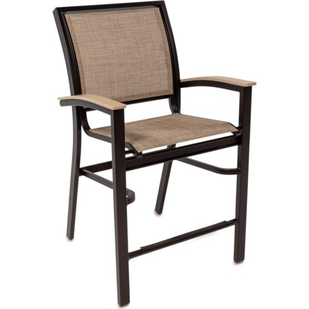 Outdoor Balcony Height Chair