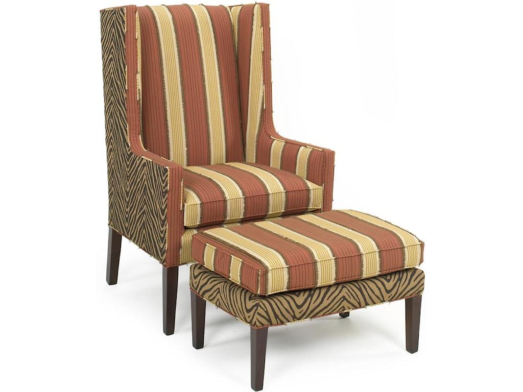 Temple Furniture 6300Chair & Ottoman