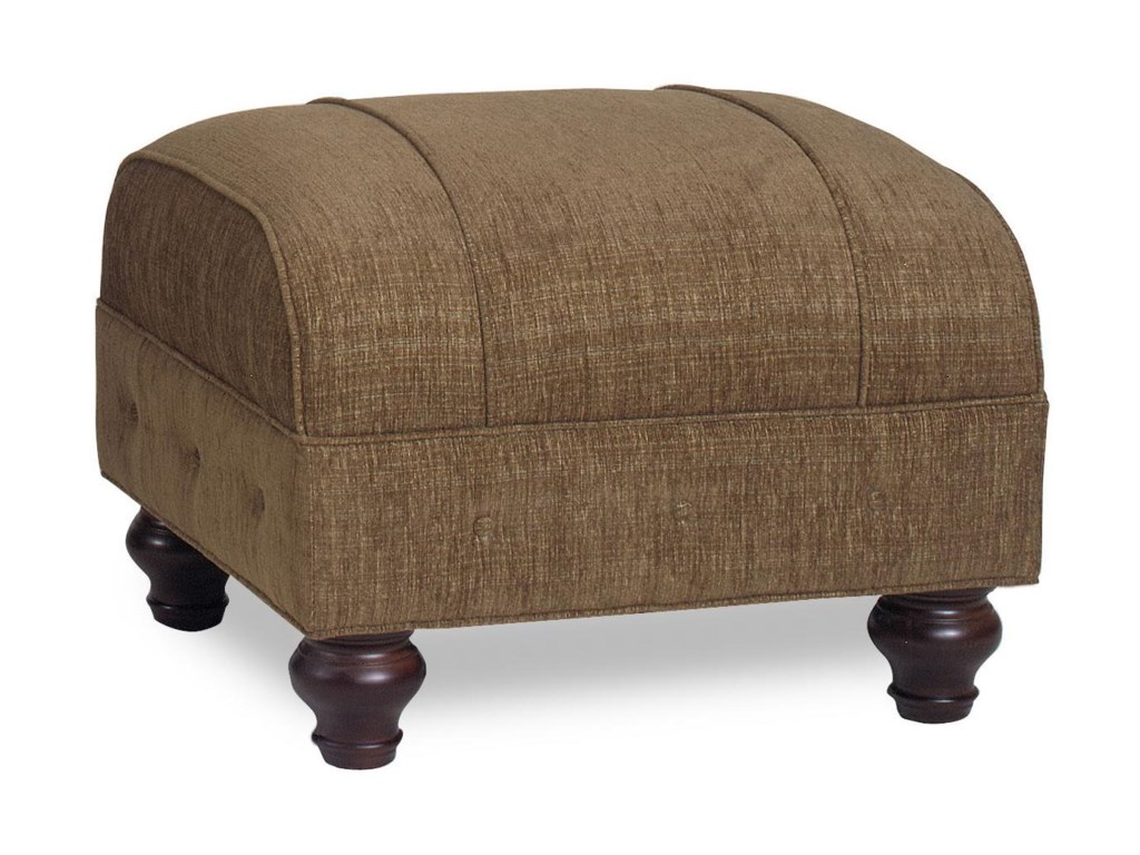 Temple Furniture Chesterfield Transitional Ottoman With Welt Cords