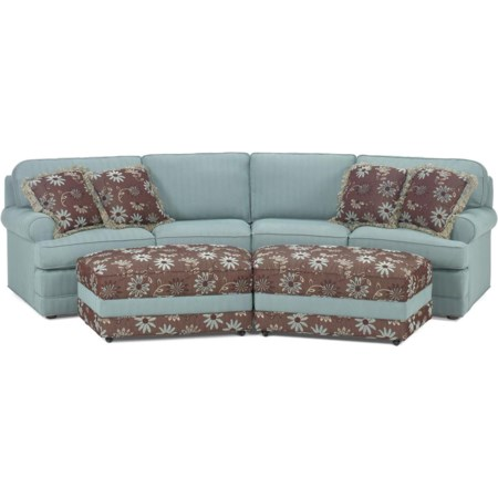 2 Piece Conversation Sofa