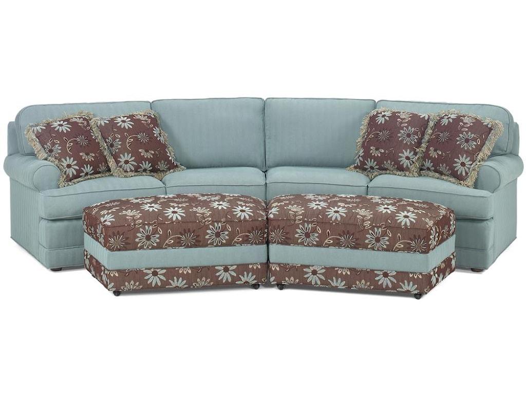 Temple Furniture Tailor Made 2 Piece Casual Conversation Sofa