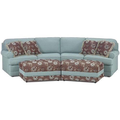 Temple Furniture Tailor Made 2 Piece Casual Conversation Sofa