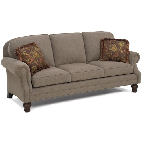Temple Furniture Winchester Traditional Stationary Sofa