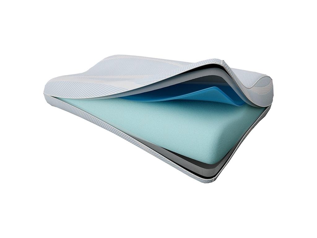Tempur-Pedic Sleep Systems Breeze° PillowBreeze° Neck + Advanced Cooling Pillow