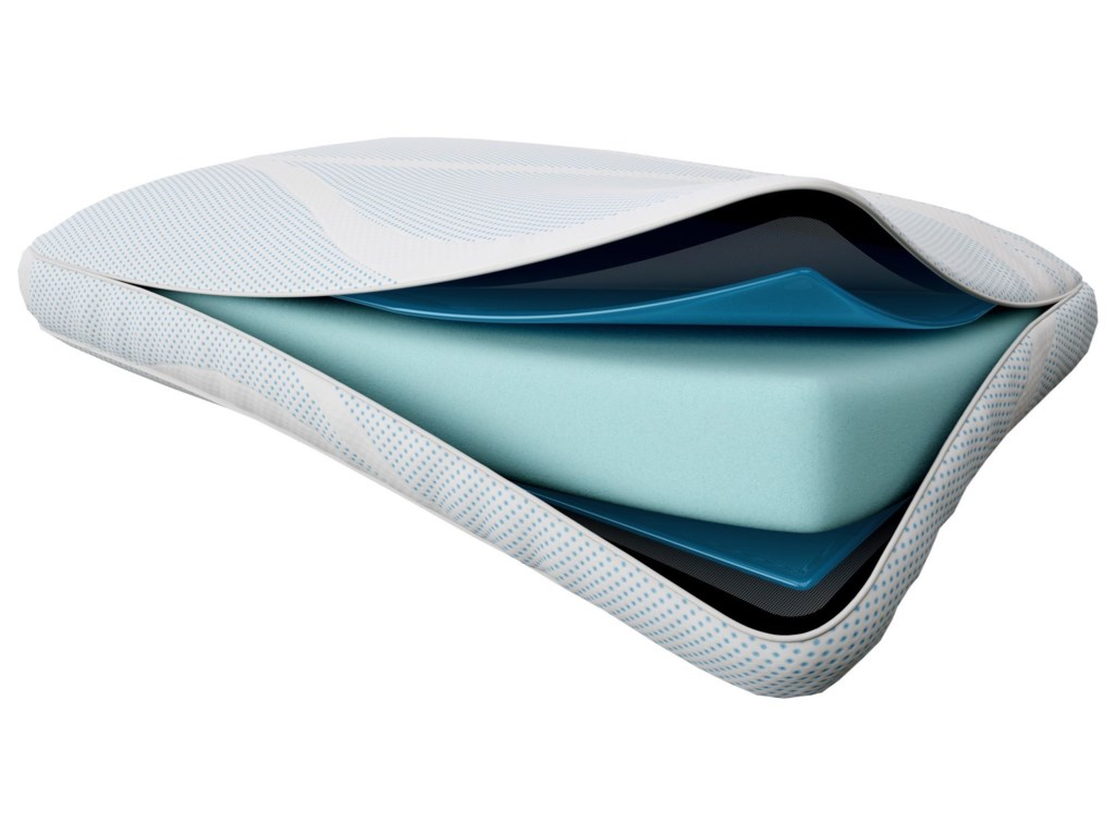 Tempur-Pedic® Breeze° PillowBreeze° PROHI + Advanced Cooling King Pillow
