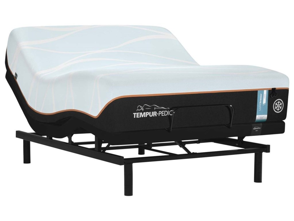 Tempur-Pedic® LUXEbreeze FirmCalifornia King Tempur Material Mattress Set