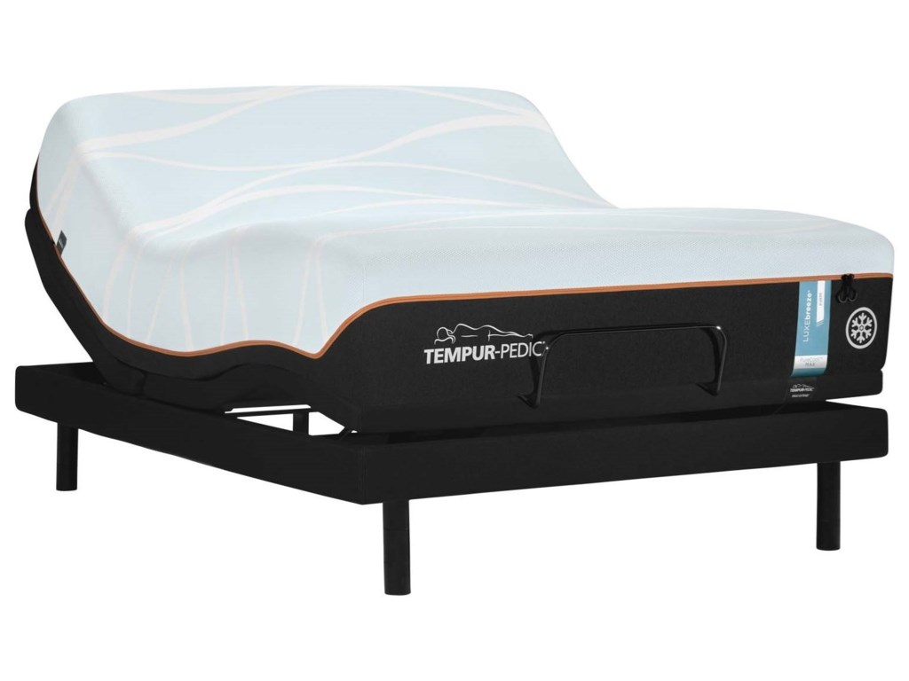 Tempur-Pedic® LUXEbreeze° FirmCal King Tempur Material Mattress Set