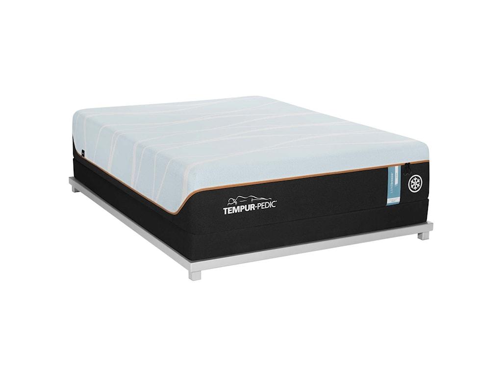 Tempur-Pedic® LUXEbreeze° FirmCal King Tempur Material Mattress Set