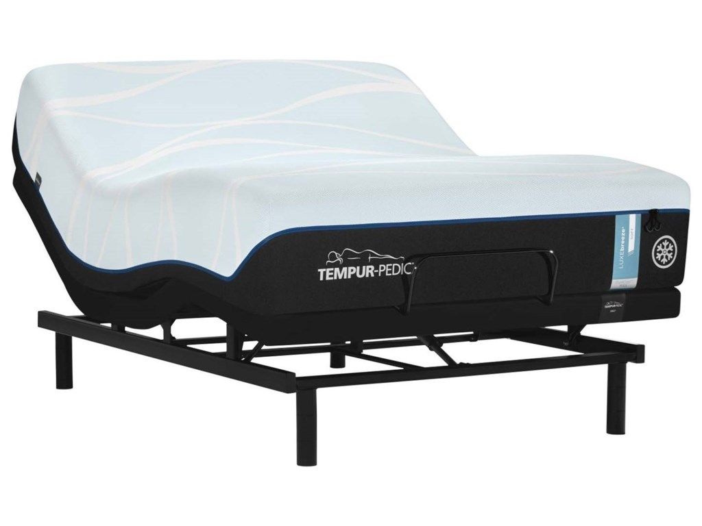 Tempur-Pedic® LUXEbreeze° SoftKing Tempur Material Mattress Set