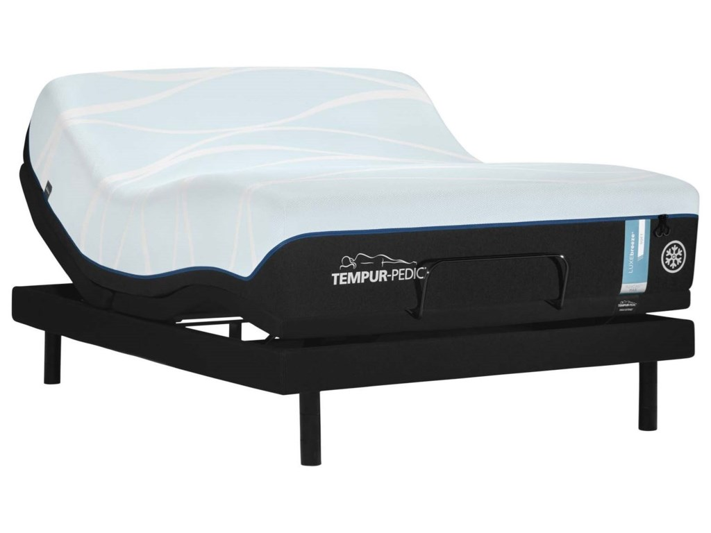 Tempur-Pedic® LUXEbreeze° SoftCal King Tempur Material Mattress Set