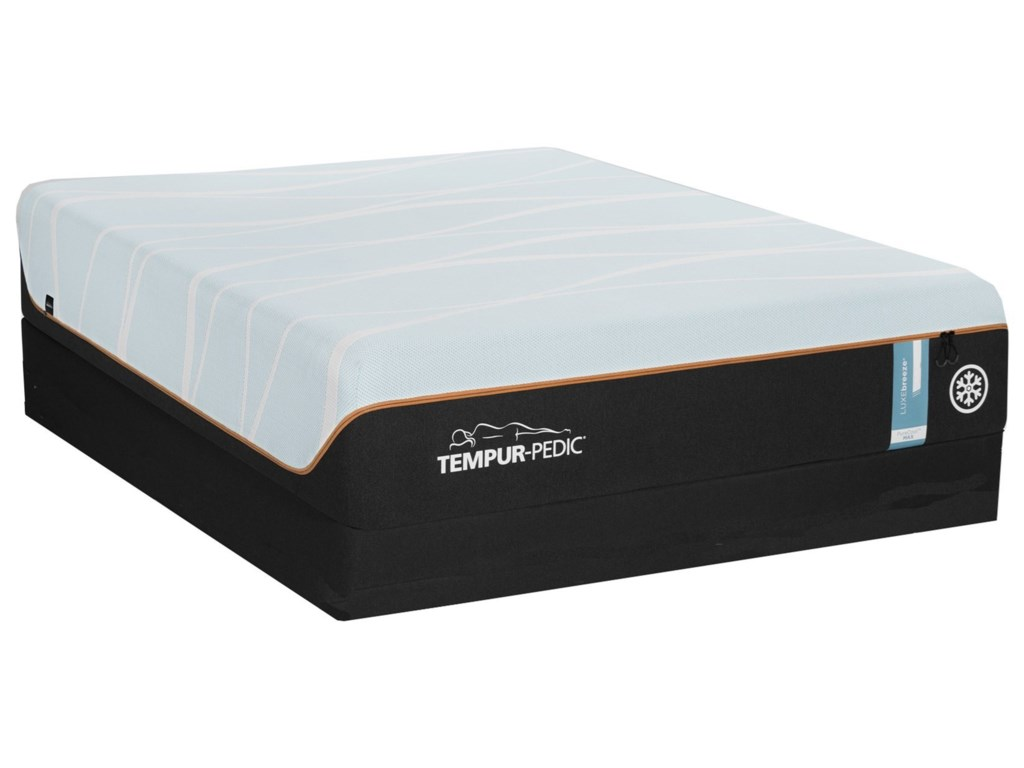 Tempur-Pedic® TEMPUR-LUXEbreeze°™ SoftQueen TEMPUR-LUXEbreeze°™ Soft Mattress Set