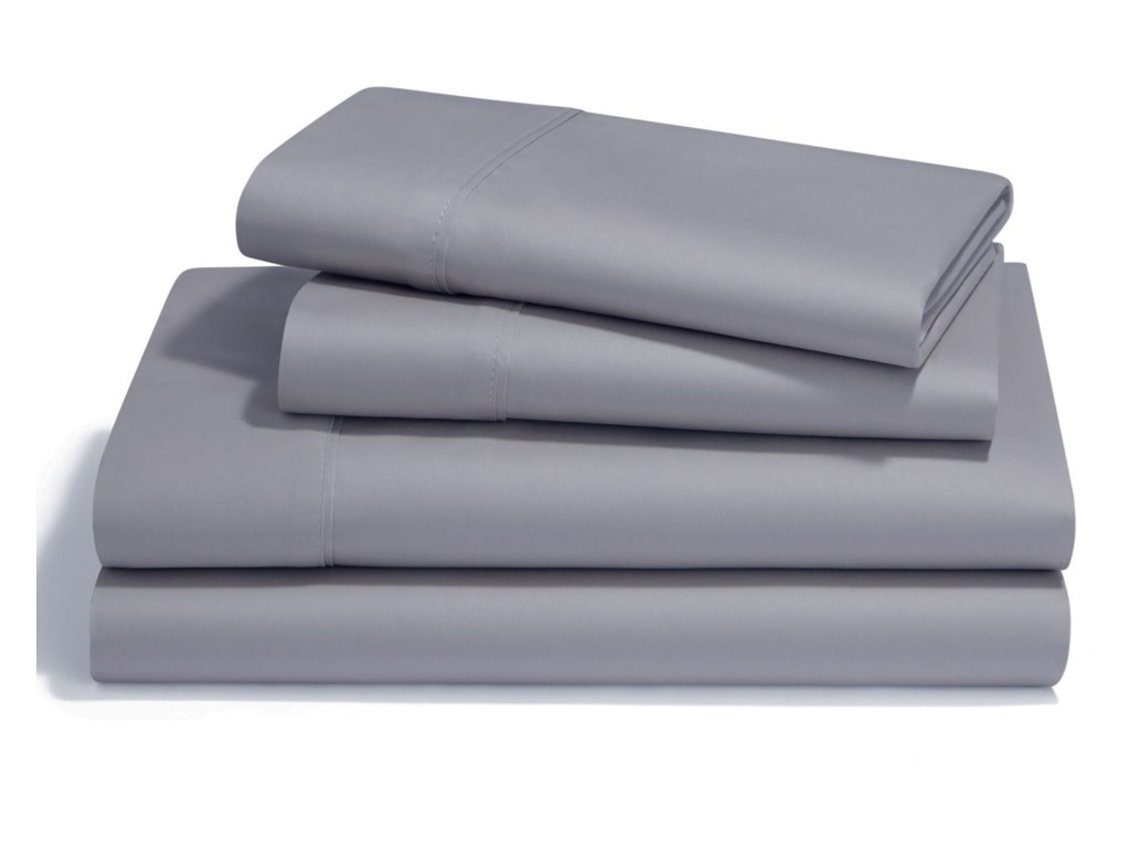 Tempur-Pedic® Pima Cotton Sheet SetsTwin Silver Lining Pima Cotton Sheet Set