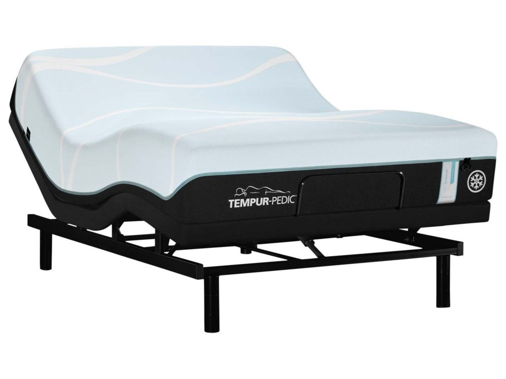 Tempur-Pedic® PRObreeze° Medium HybridKing Hybrid Mattress Set