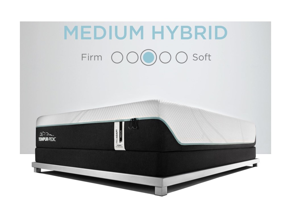 Tempur-Pedic® TEMPUR-PRObreeze°™  Medium HybridSp CK TEMPUR-PRObreeze°™ Medium Hybrid Matt
