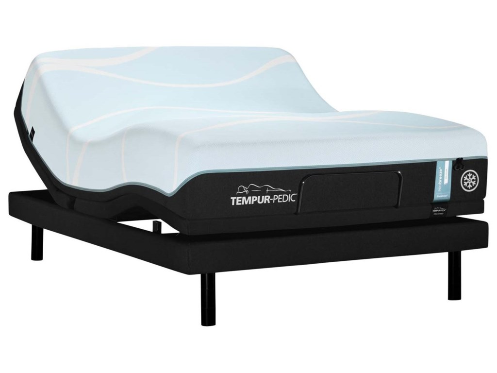 Tempur-Pedic® PRObreeze° MediumCal King Tempur Material Mattress Set