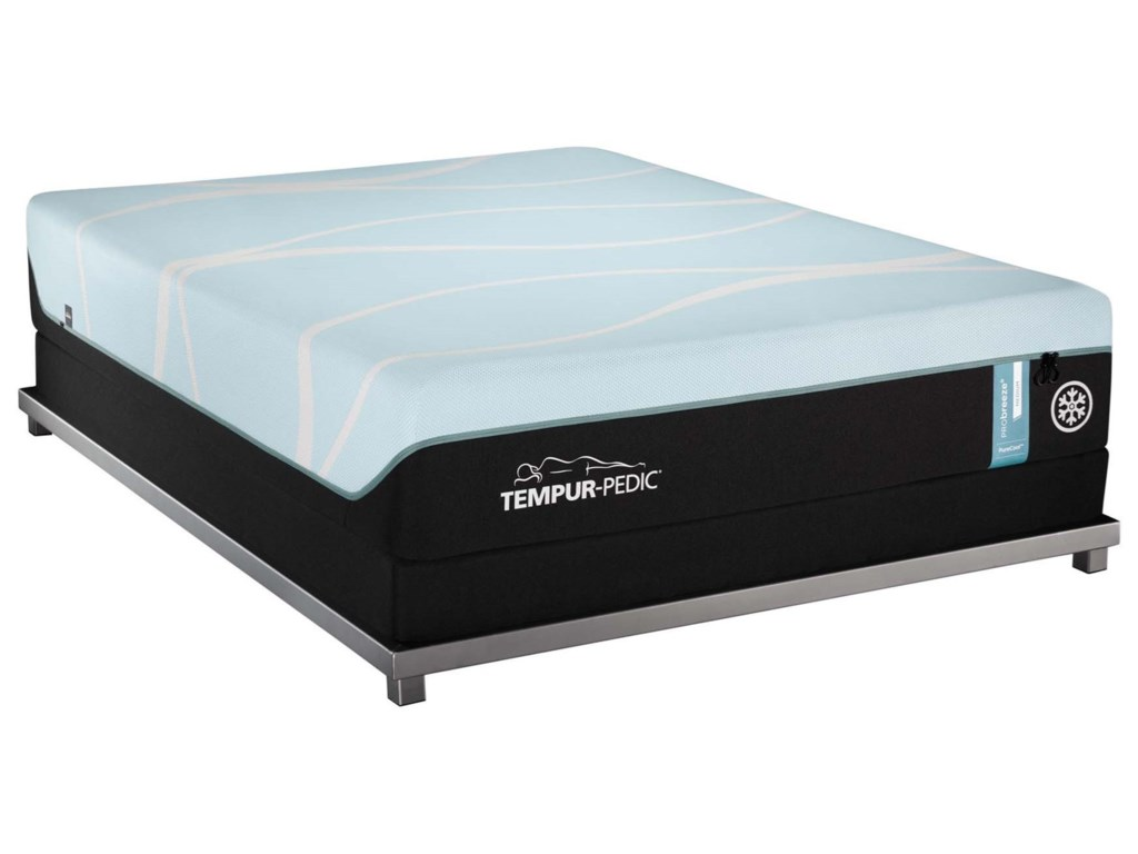 Tempur-Pedic® PRObreeze° MediumTwin XL Tempur Material Mattress Set