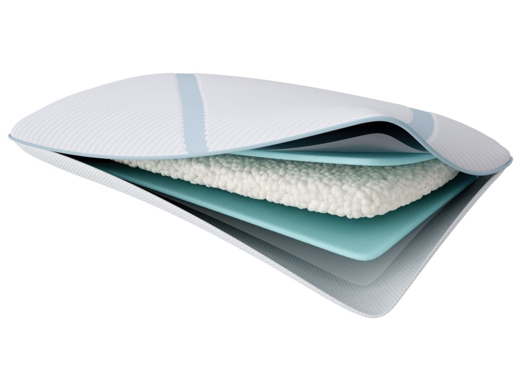 Tempur-Pedic® TEMPUR-Adapt Pro-LoKing TEMPUR-Adapt Pro-Lo + Cooling Pillow