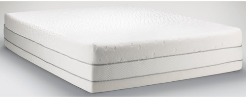 Tempur-Pedic® TEMPUR-Choice™  Luxe Twin Extra Long Medium Firm to Soft Mattress and Tempur-Ergo Plus Adjustable Grey Base