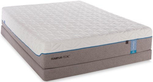 Tempur-Pedic® TEMPUR-Cloud Elite Twin XL Extra Soft Mattress and Low Profile Foundation