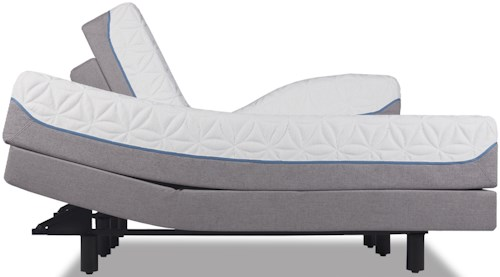 Tempur-Pedic® TEMPUR-Cloud Elite Full Extra Soft Mattress and TEMPUR-Ergo™ Premier Adjustable Base