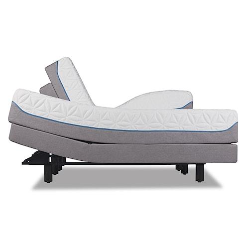 Tempur-Pedic® TEMPUR-Cloud Elite Full Extra-Soft Mattress and TEMPUR-Ergo Premier Adjustable Foundation