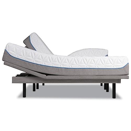 Tempur-Pedic® TEMPUR-Cloud Elite King Extra-Soft Mattress and TEMPUR-Ergo™ Plus King Adjustable Foundation