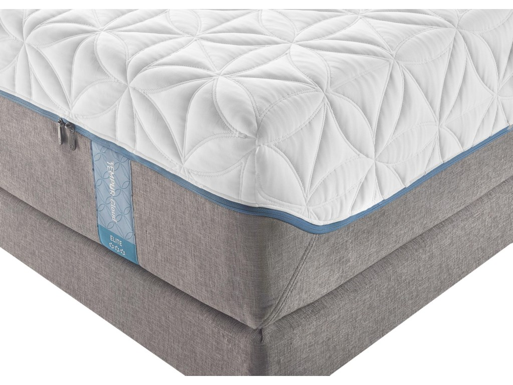 Tempur-Pedic® TEMPUR-Cloud EliteCal King Extra-Soft Mattress Set