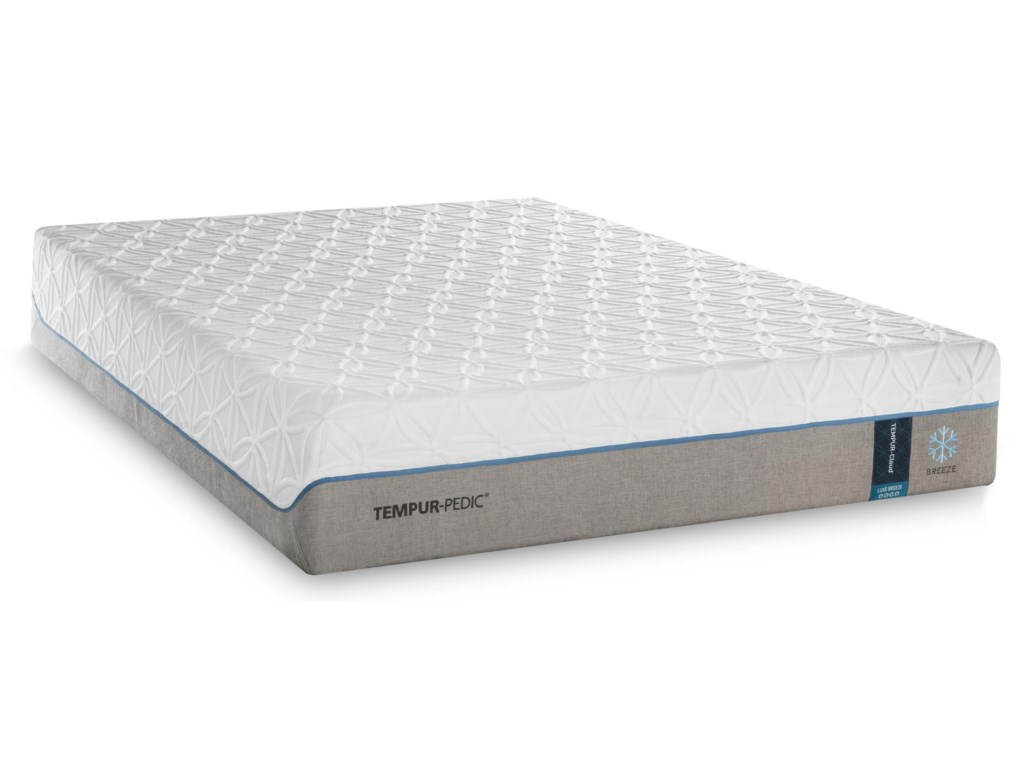 Tempur-Pedic® TEMPUR-Cloud Luxe Breeze 2Twin Extra Long Ultra-Soft Mattress Set, Adj