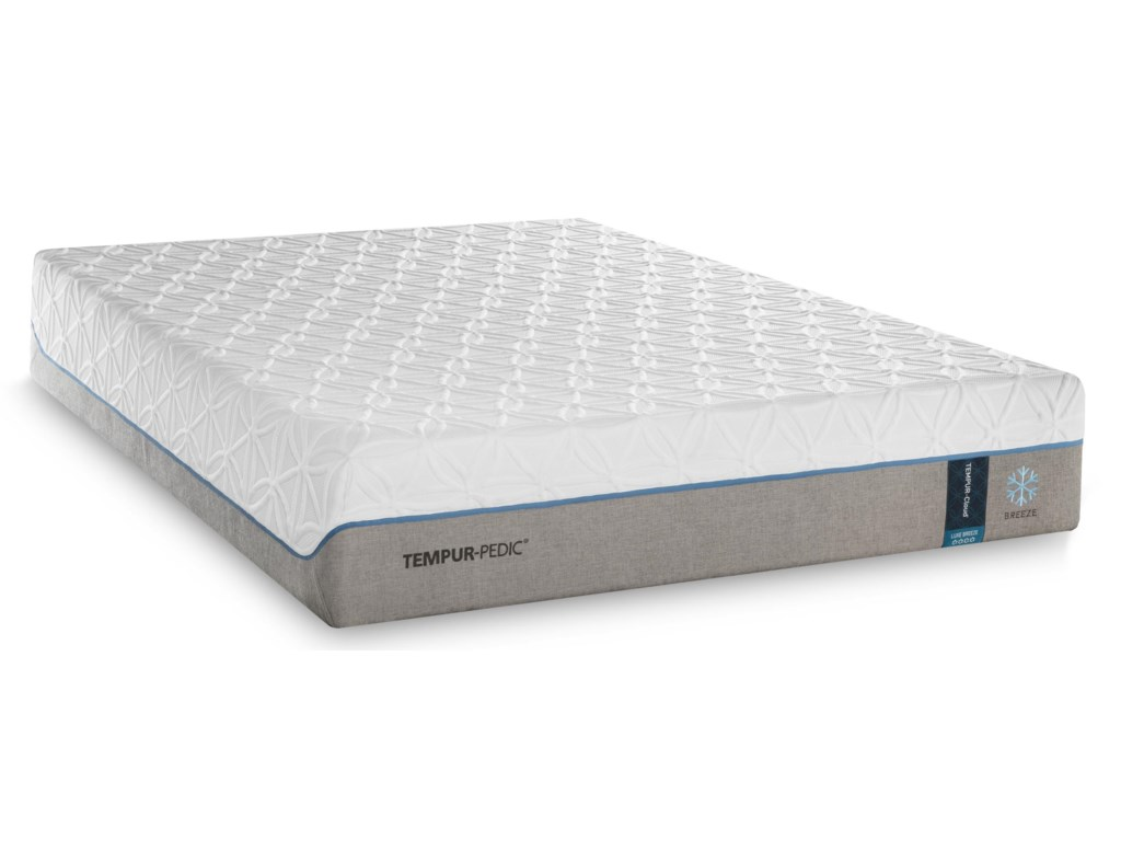 Tempur-Pedic® TEMPUR-Cloud Luxe Breeze 2Twin Extra Long Ultra-Soft Adj Set