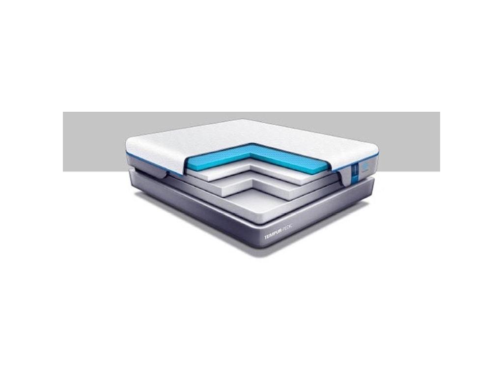 Tempur-Pedic® TEMPUR-Cloud Luxe Breeze 2Queen Ultra-Soft Mattress Set