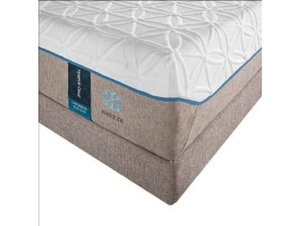 Tempur-Pedic® TEMPUR-Cloud Luxe Breeze 2King Ultra-Soft Mattress Set, Adj