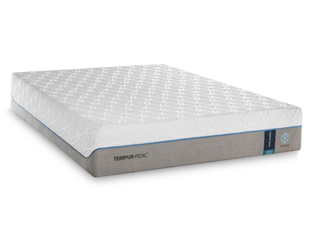Tempur-Pedic® TEMPUR-Cloud Luxe Breeze° 2California King Ultra-Soft Mattress Set, Adj
