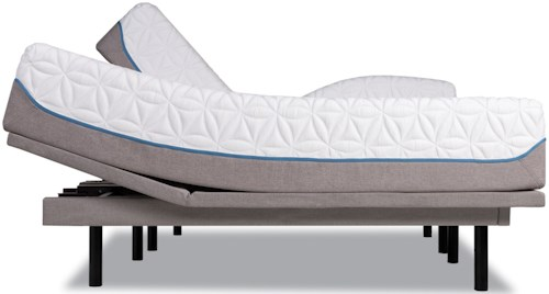 Tempur-Pedic® TEMPUR-Cloud Luxe King Ultra-Soft Mattress and Tempur-Ergo Plus Adjustable Base
