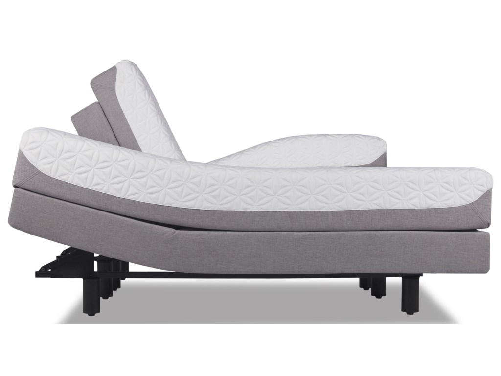 Image Shows as a Split Mattress & Base;  Image May Not Represent Size Indicated