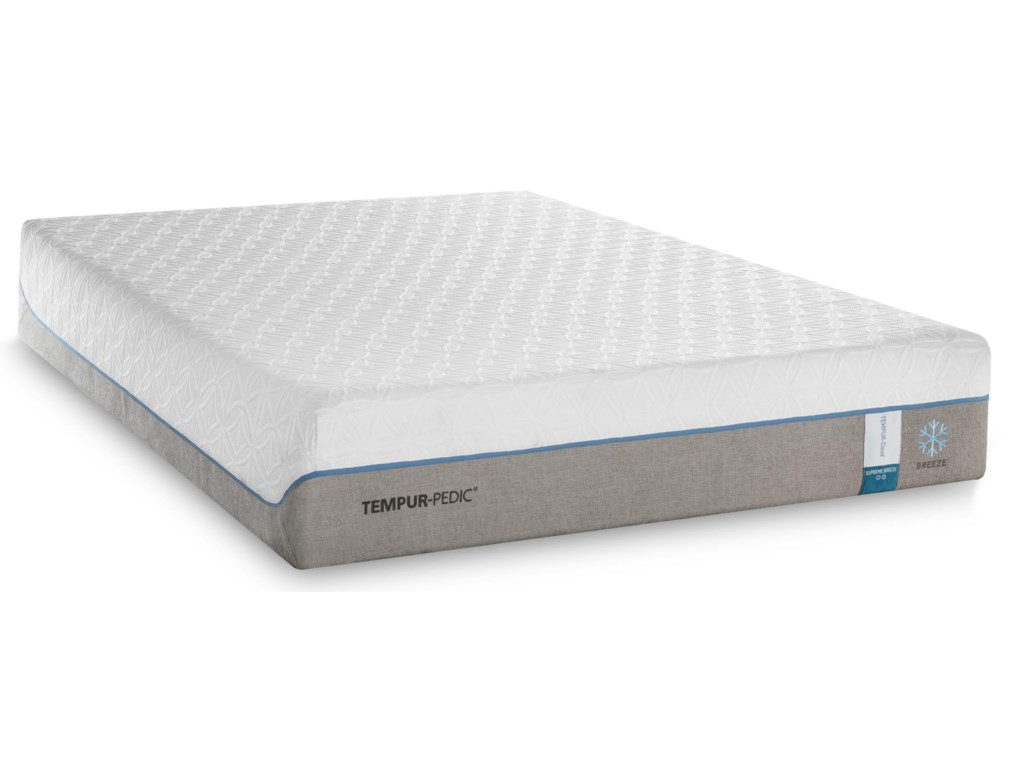 Tempur-Pedic® TEMPUR-Cloud Supreme Breeze 2Cal King Soft Adj Set