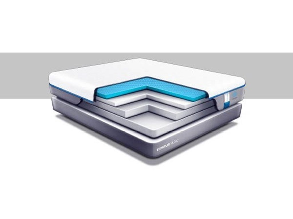 Tempur-Pedic® TEMPUR-Cloud Supreme Breeze 2Full Soft Mattress Set