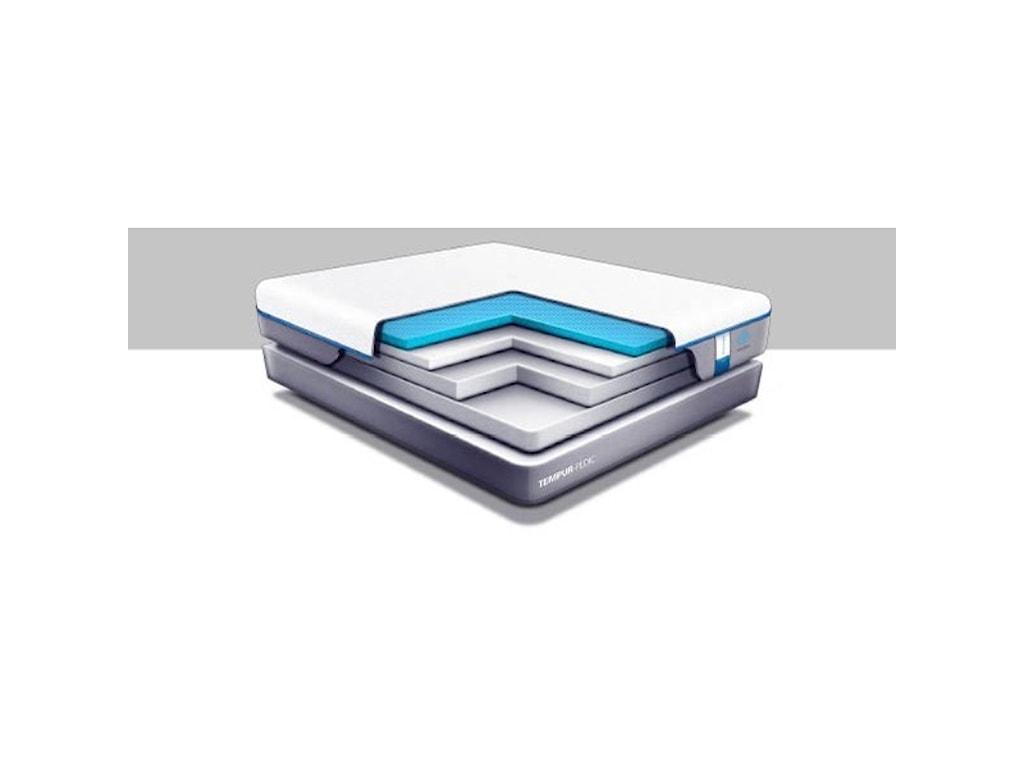 Tempur-Pedic® TEMPUR-Cloud Supreme Breeze 2Full Soft Mattress Set