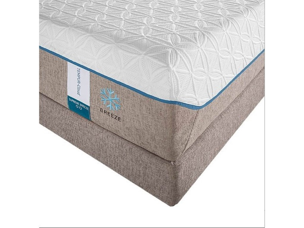 Tempur-Pedic® TEMPUR-Cloud Supreme Breeze° 2King Soft Mattress Set