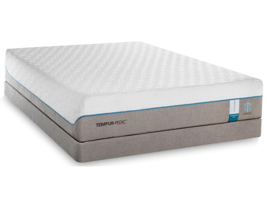 Tempur-Pedic® TEMPUR-Cloud Supreme Breeze 2King Soft Mattress Set