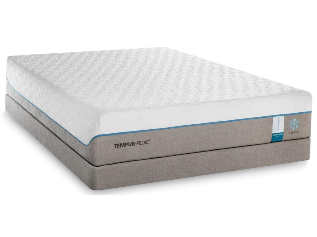 Tempur-Pedic® TEMPUR-Cloud Supreme Breeze° 2Queen Soft Mattress Set