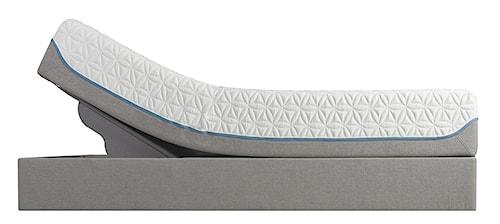 Tempur-Pedic® TEMPUR-Cloud Supreme Cal King Soft Mattress and TEMPUR-Up Adjustable Base