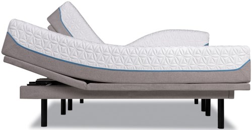 Tempur-Pedic® TEMPUR-Cloud Supreme Twin XL Soft Mattress and TEMPUR-Ergo Plus Adjustable Base