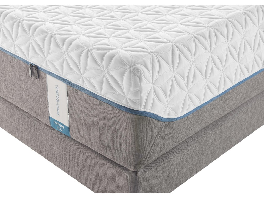 Tempur-Pedic® TEMPUR-Cloud SupremeQueen Soft Mattress Set