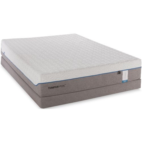 Tempur-Pedic® TEMPUR-Cloud Supreme Queen Soft Mattress and Foundation
